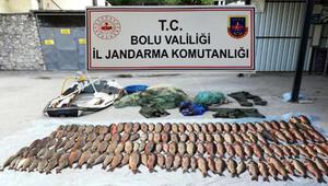 Kaçak avlanırken ikinci kez yakalandı, 15 günde 50 bin 865 lira ceza yedi