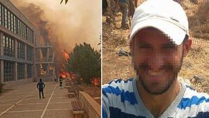 KKTCdeki yangın ODTÜ Kuzey Kıbrıs Kampüsüne sıçradı