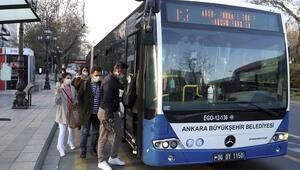 Yoğun bölgelere otobüs takviyesi