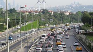 İstanbul bu sabah Durma noktasına geldi