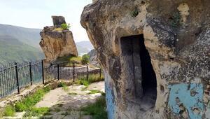 Asırlık mağaralar restore edilecek