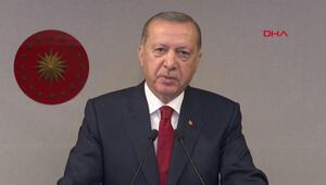 Son dakika haberler... Hakim ve savcı kura töreninde Cumhurbaşkanı Erdoğandan önemli mesajlar