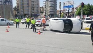 Malatyada kaza; 1 yaralı