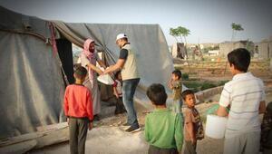 Cerablus ve El Babda, her gün 6 bin 400 kişiye iftar veriliyor
