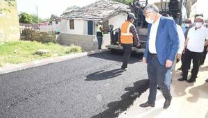 İmamoğlu'nda asfalt çalışması