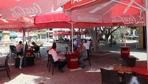 KKTCde restoran, kafe ve berberler açıldı