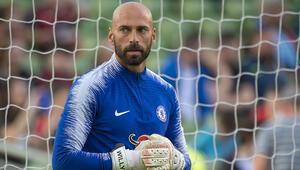 38 yaşındaki kaleci Caballero, bir yıl daha Chelseade