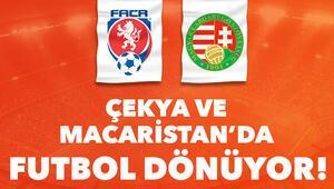 Çekya ve Macaristanda futbol dönüyor Karşılaşmalar iddaa bülteninde...