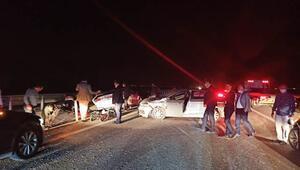 Bakan Karaismailoğlu'nun konvoyunda kaza: 4 yaralı