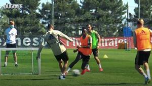 Real Madridde antrenman temposu yükselmeye başladı