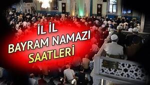 Bayram namazı saat kaçta, ne zaman kılınacak 2020 İstanbul, Ankara, İzmir bayram namazı saati