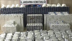 Kaçakçıların bırakıp kaçtığı atlarda 157 kilo uyuşturucu ele geçti