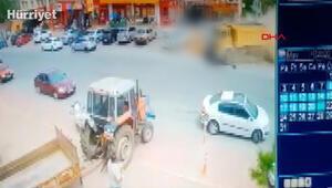 Kayseride freni patlayan kamyon 4 araca çarptı: 5 yaralı