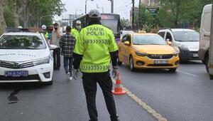 Fatihte toplu taşıma araçları ve taksiler denetlendi