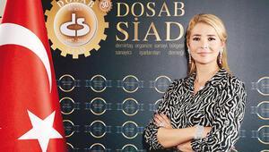 DOSABSİAD Başkanı Nilüfer Çevikel: Çarkların dönmesi için sorumluluk aldık