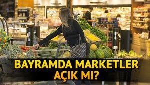 Bayramda marketler açık mı 2020 24-26 Mayıs Migros, Şok, A101, BİM, bayramda açık olacak mı