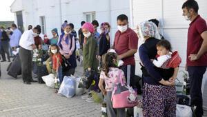 KKTCden getirilip karantinaya alınan 288 kişi, evlerine gönderildi