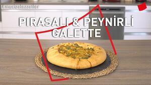 Pırasalı Peynirli Kiş | Mucize Lezzetler