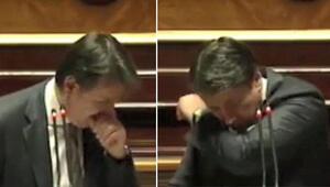 İtalya Başbakanı Contenin öksürük krizine Maske tak tepkisi