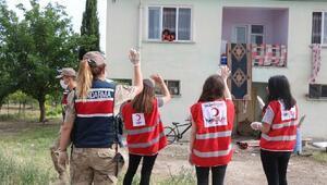 Malatyada yardım kolileri ihtiyaç sahiplerine dağıtıldı