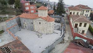 Trabzonda inanç turizmine yeni bir eser kazandırıldı
