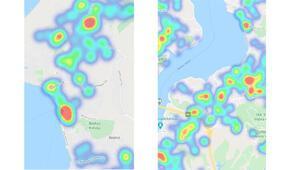 İstanbul corona virüsü risk haritası(koronavirüs): İstanbul ilçelere göre Covid 19 harita detayları
