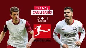 Sezonun ilk maçını 5-1 Frankfurt kazanmıştı Bayern kazanır ve maçta en az 4 gol olursa iddaada...