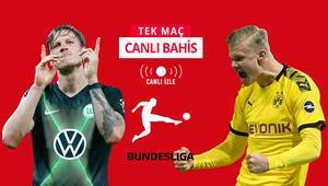 Herkesin gözü Bundesligadaki bu maçta Wolfsburga karşı Dortmundun iddaa oranı...