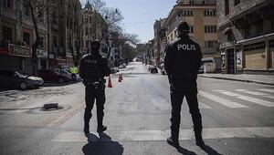 Son dakika 81 ilde 4 günlük sokak kısıtlaması başladı