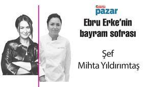 Hürriyet Pazar gastronomi yazarı Ebru Erkenin bayram sofrası kuruluyor