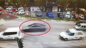 Bursada 2 kişinin yaralandığı silahlı çatışma kamerada