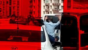 Ankarada sokak ortasında 10 yıllık eşini öldürdü