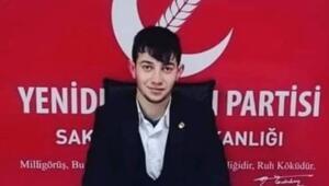 Yeniden Refah Partisi Gençlik Kolları Başkanı Doğukan Çam, kazada öldü