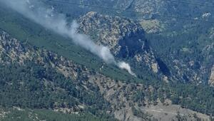Son dakika haberler: Antalyada orman yangını