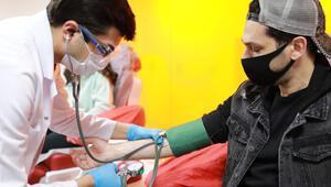 Murat Yıldırımdan Türk Kızılaya kan bağışı