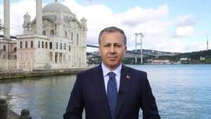 İstanbul Valisi Yerlikayadan bayram mesajı