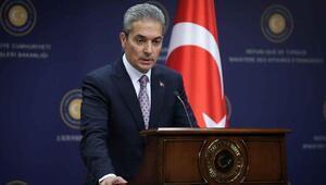 Dışişleri Bakanlığı Sözcüsü Aksoydan Türkiye-Yunanistan sınırına ilişkin iddialara yanıt