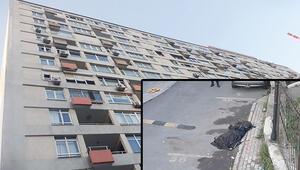 17 katlı binanın çatısından beton zemine.. Yakınları kahroldu