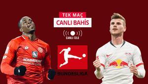 RB Leipzig geçtiğimiz haftayı telafi peşinde Mainz maçını kazanırlarsa iddaada...
