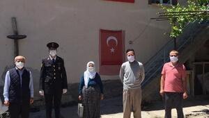 Jandarma,  Beyşehirli şehit ve gazi ailelerini yalnız bırakmadı