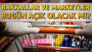 Bugün marketler ve bakkallar açık mı 26 Mayıs marketler çalışıyor mu Sokağa çıkma yasağında internetten sipariş veriliyor mu