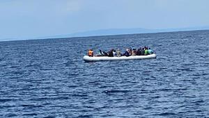 Yunanistanın ölüme terk ettiği 40 göçmen kurtarıldı