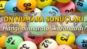 On Numara canlı çekiliş sonuçlarını MPİ duyurdu: Büyük ikramiye o ile çıktı - 25 Mayıs On Numara sorgulama