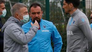 Trabzonsporun idmanını Ahmet Ağaoğlu da izledi