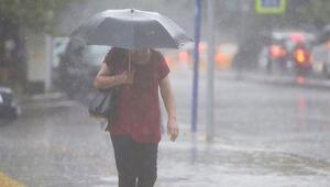 Meteorolojiden o iller için yağış uyarısı