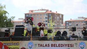 Talasta eğlenceli bayram kutlaması