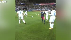 Hakem kamerasından Real Madrid - MLS Karması maçı aksiyonları