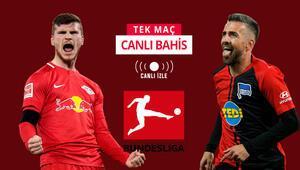 İkisi de formda, ikisi de puan kaybına tahammülsüz RB Leipzige Hertha karşısında iddaada...