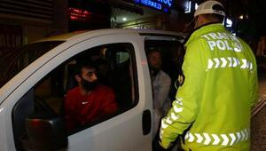 Bursa'da kısıtlamanın bitimine dakikalar kala ceza yağdı