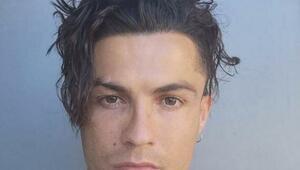 Yıldız futbolcular tanınmaz halde Cristiano Ronaldo...